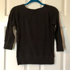 Old Navy 3/4 Length Top